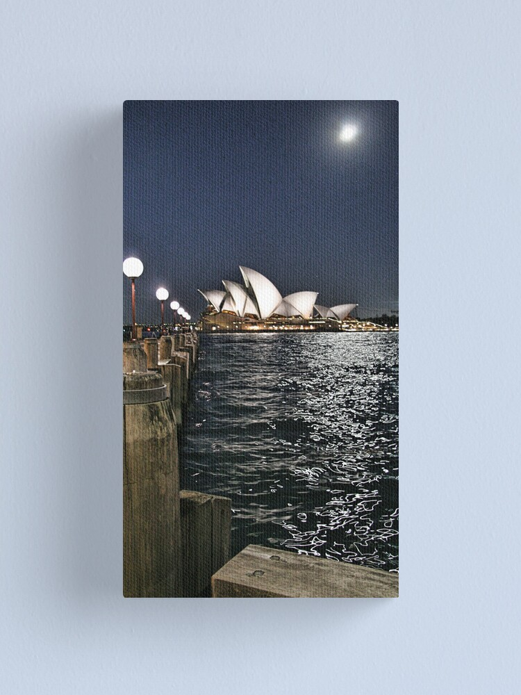 Alternate view of Sydney Series - Opera House Canvas Print