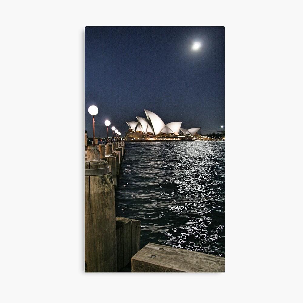 Sydney Series - Opera House Canvas Print