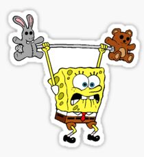 Spongebob Teddy Weight Sticker