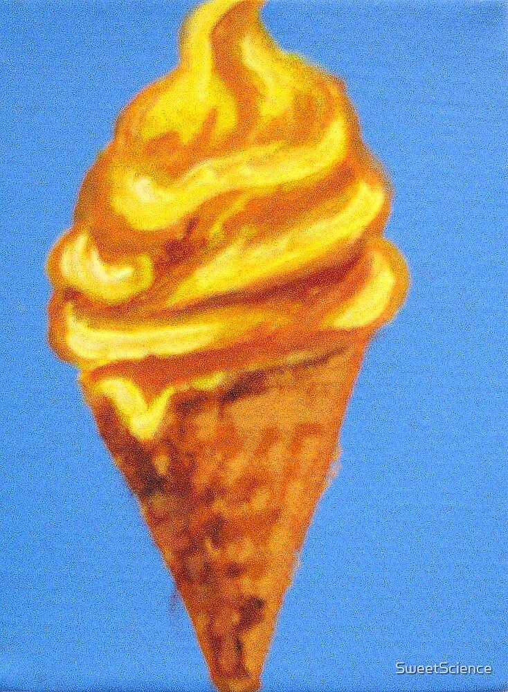 Hokey Pokey Ice Cream by SweetScience