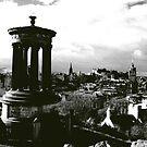 Edinburgh from Calton Hill by John Glynn ARPS