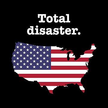 Total Disaster (Donald Trump) by deheleisa