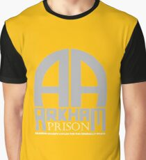 Arkham Prison Graphic T-Shirt