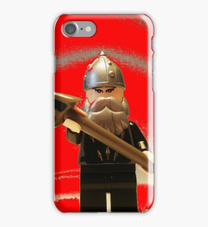 Mongolian Warrior Chief Custom Minifig iPhone Case/Skin
