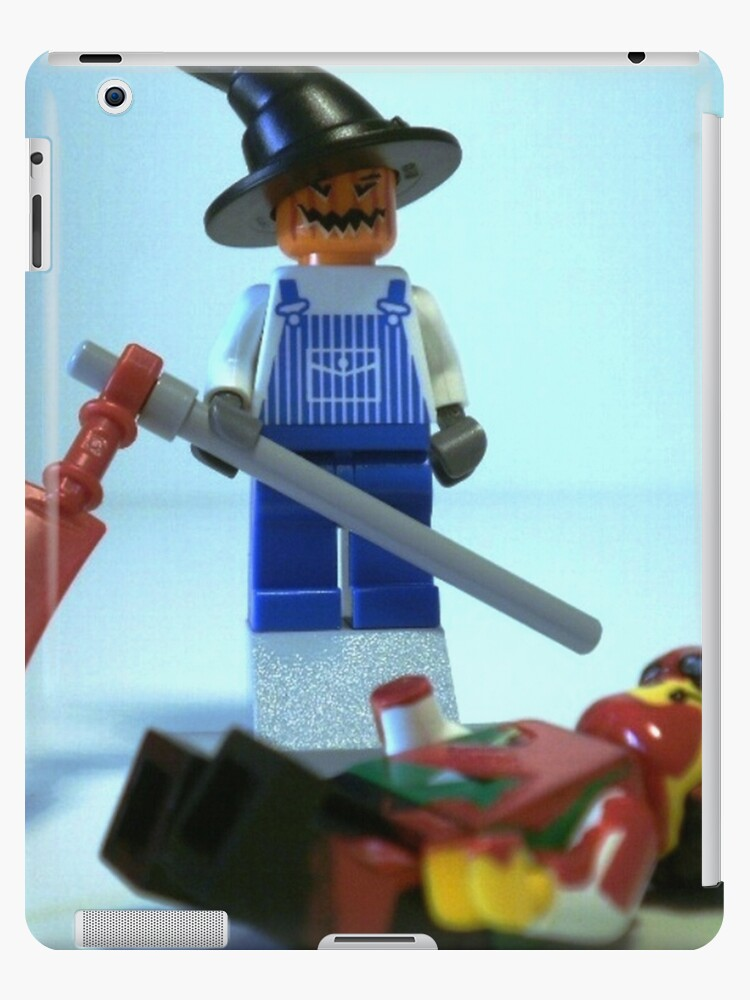 Scary Halloween Scarecrow Custom Minifig by Customize My Minifig