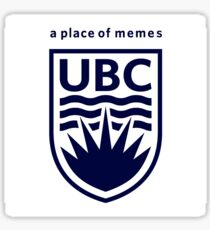UBC - A Place of Memes Sticker
