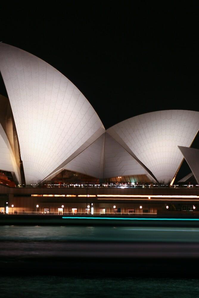 Opera House Traffic by Chris Putnam