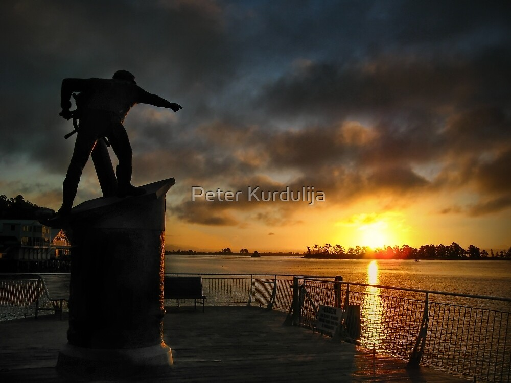 Everyone, Over There … Is The Sunset We Should Be Sailing Into by Peter Kurdulija