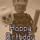 Happy Birthday Frankensteins Monster Custom Minifig by Customize My Minifig