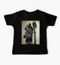 Mummy with Gold Head Gear Baby Tee