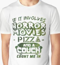 If It Involves Horror Movies - Movies Graphic T-Shirt