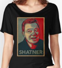 SHATNER Women's Relaxed Fit T-Shirt