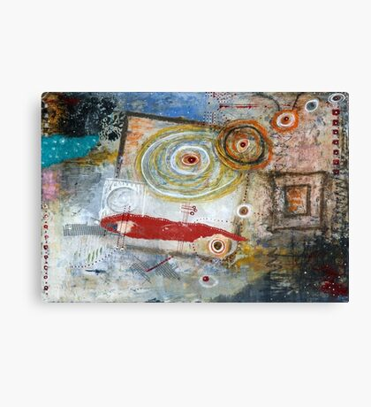 Square Peg, Round Hole Canvas Print