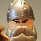 Mongolian Warrior Chief Custom Minifig by Customize My Minifig