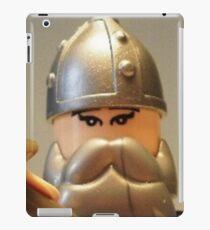 Mongolian Warrior Chief Custom Minifig iPad Case/Skin