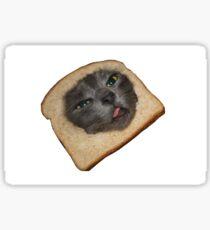 breaded cat Sticker