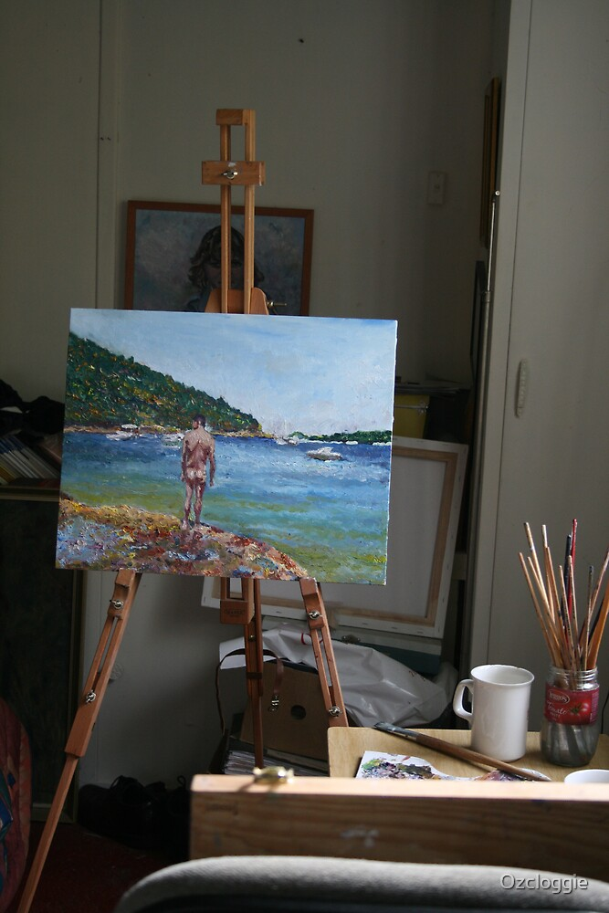 Progress report on painting  by Ozcloggie