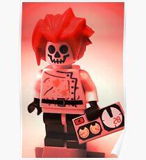 Professor Boom Custom Minifigure Poster