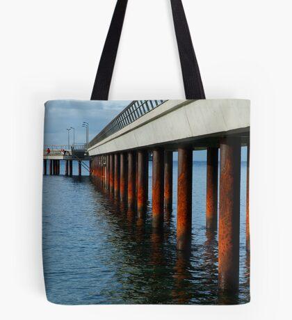 Rusty Pylons,Lorne Pier Tote Bag
