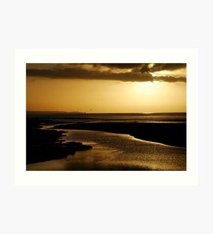 Erskine River and Split Point Art Print