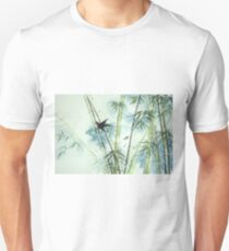 Bamboo Forest - green Unisex T-Shirt