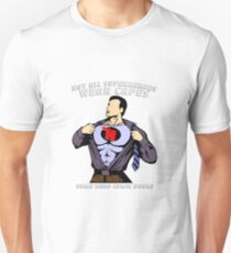 Not All Superheroes Wear Capes - Comic Books T-Shirt