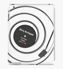 Vinyl Record - Dirty Analogue iPad Case/Skin