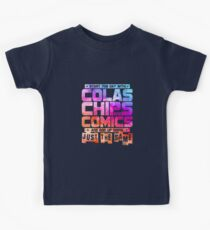 Colas Chips and Comics - Comic Books Kids Clothes