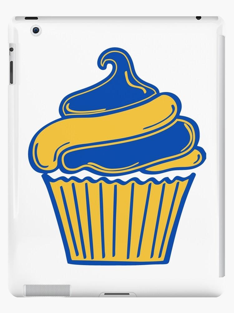 golden state warriors cupcake