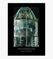 Navesink Fresnel Lens - Cool Stuff Photographic Print