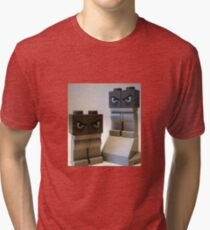 Evil Weird Head Monster Tri-blend T-Shirt
