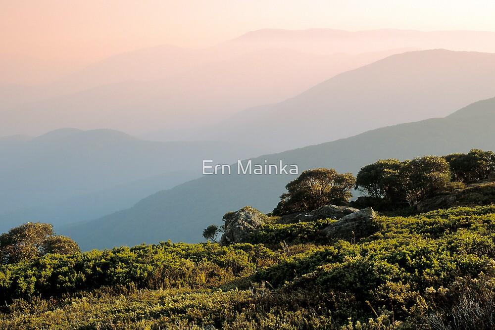 Alpine Serenity by Ern Mainka