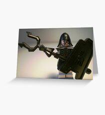 Ching Dynasty Chinese Warrior Custom Minifigure Greeting Card