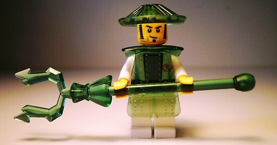 Ching Dynasty Chinese Warrior Custom Minifigure by Chillee
