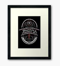 Strong Ale Skooma Framed Print