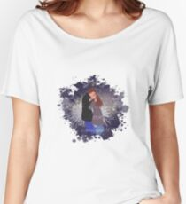 A kiss in the fireworks ❤ (B-colored) Women's Relaxed Fit T-Shirt