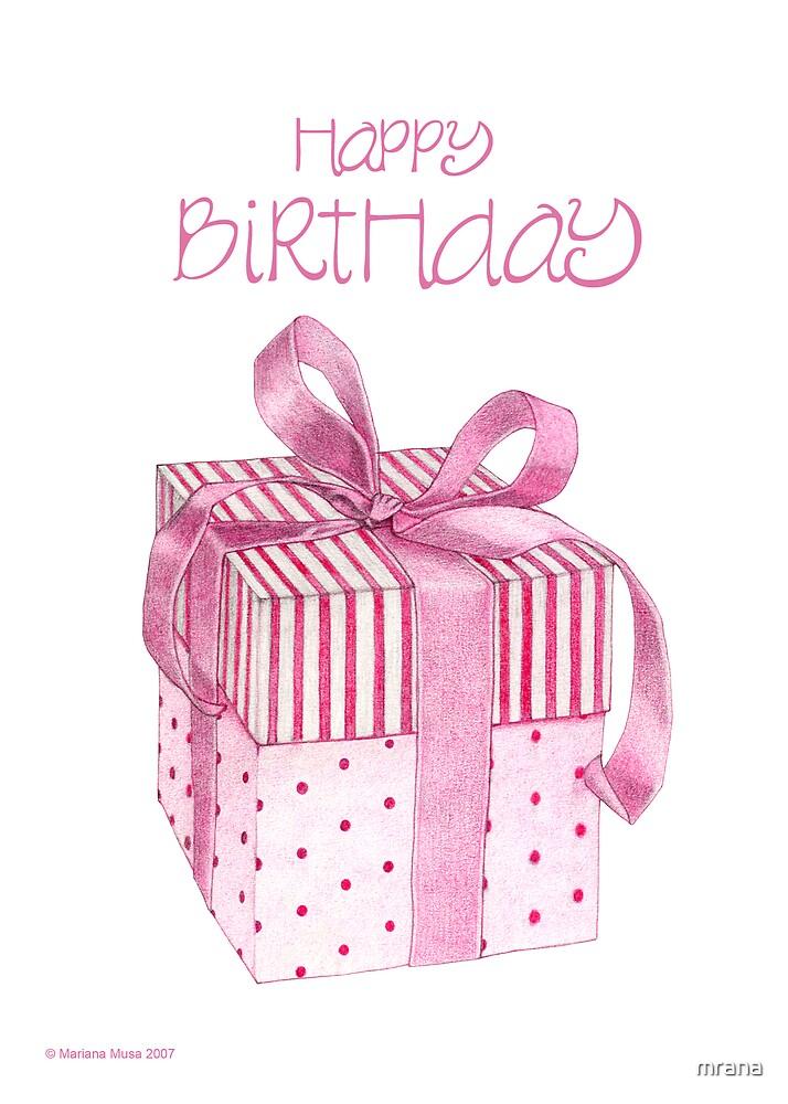 Pink Gift Birthday by Mariana Musa