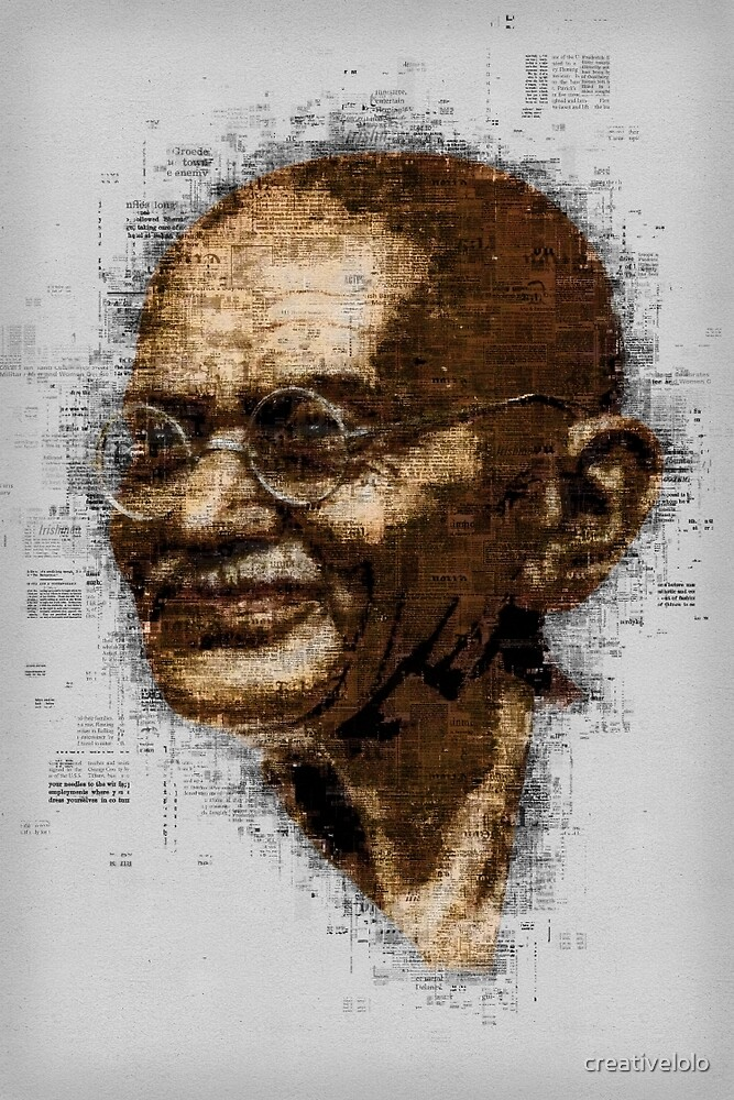 Gandhi by creativelolo