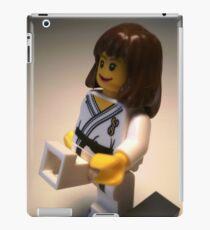 Judo Karate Martial Arts Girl Custom Minifigure iPad Case/Skin