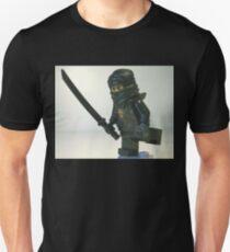 Black Ninja Custom Minifigure Unisex T-Shirt