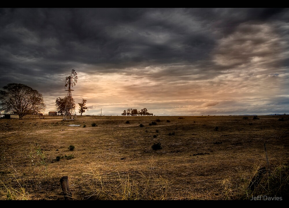 The drought we face by Jeff Davies