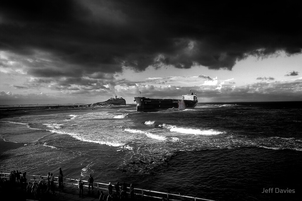Pasha Bulker in B&W by Jeff Davies
