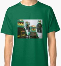 Motorcycle Stunt Team Minifigures Classic T-Shirt