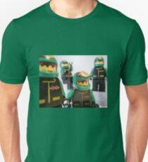 Motorcycle Stunt Team Minifigures Unisex T-Shirt