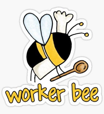 Worker bee - cook/chef Sticker