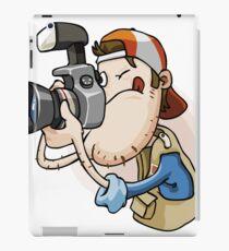 Funny photographer iPad Case/Skin