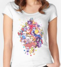 Undertale Color Women's Fitted Scoop T-Shirt