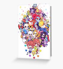 Undertale Color Greeting Card