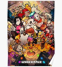 Awesome Undertale art Poster