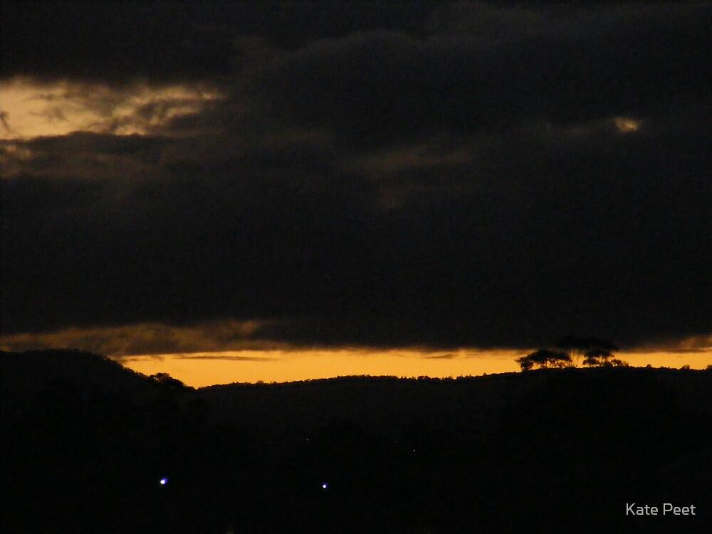 sun set by Kate Peet
